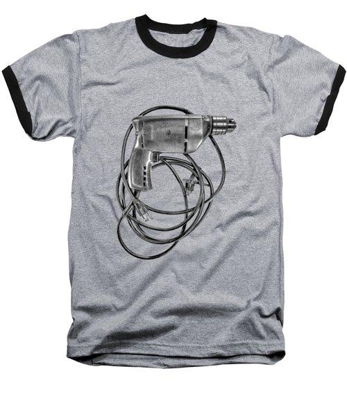 Craftsman Drill Motor Bs Bw Baseball T-Shirt by YoPedro