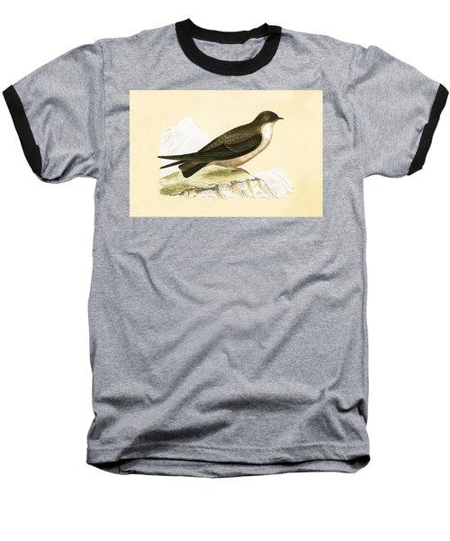 Crag Swallow Baseball T-Shirt by English School