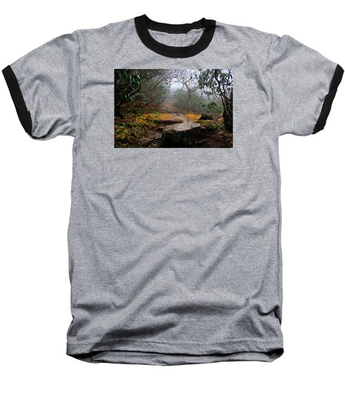 Baseball T-Shirt featuring the photograph Craggy Gardens by Jessica Brawley