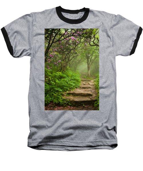 Craggy Steps Baseball T-Shirt