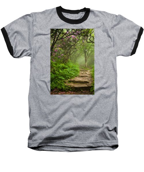 Craggy Steps Baseball T-Shirt