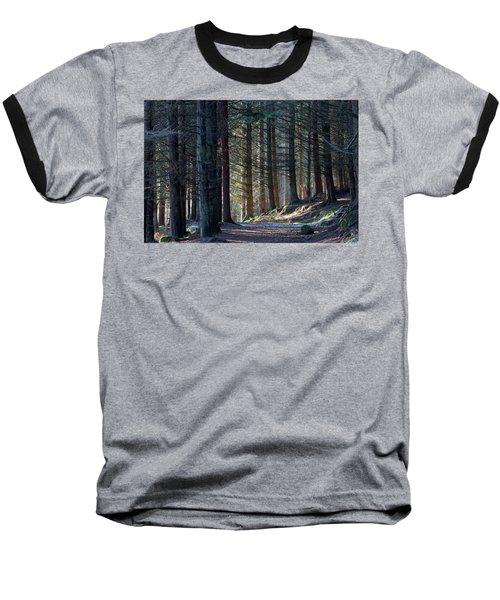 Craig Dunain - Forest In Winter Light Baseball T-Shirt