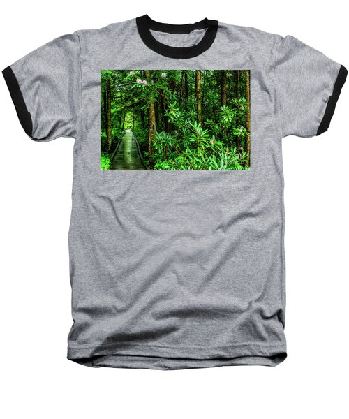 Cranberry Glades Boardwalk Baseball T-Shirt