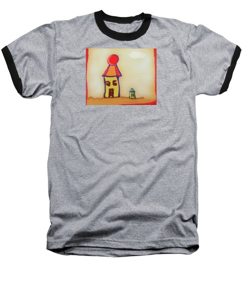Cranky Clown Cabana And Fire Hydrant Baseball T-Shirt