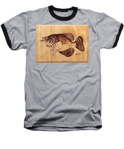 Crappie Baseball T-Shirt