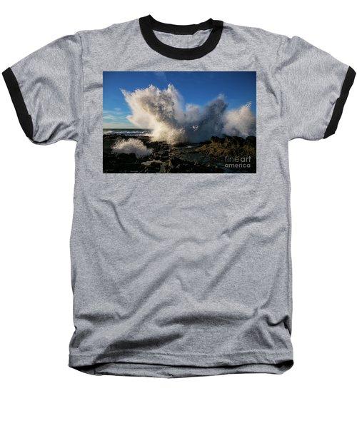 Crash Landing Baseball T-Shirt