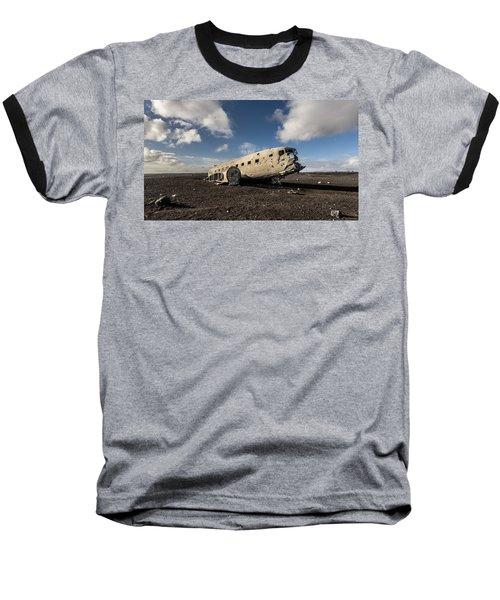 Crashed Dc-3 Baseball T-Shirt
