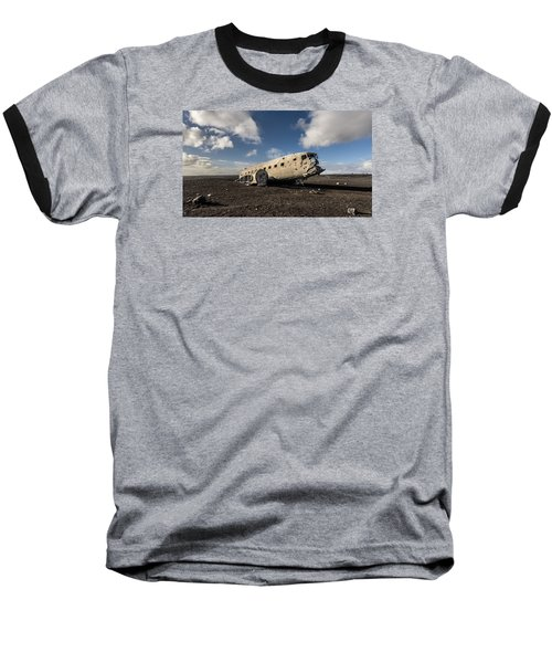 Crashed Dc-3 Baseball T-Shirt