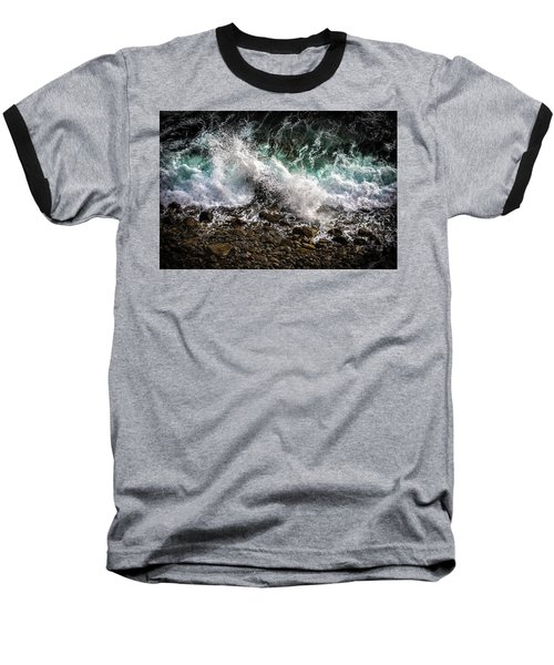 Crashing Surf Baseball T-Shirt