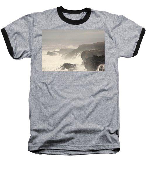 Baseball T-Shirt featuring the photograph Crashing Waves by Angi Parks