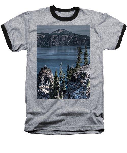 Crater Lake 4 Baseball T-Shirt