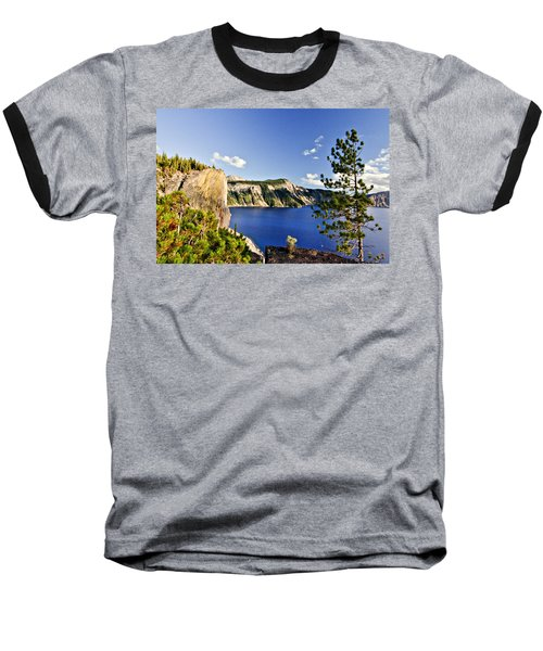 Crater Lake II Baseball T-Shirt