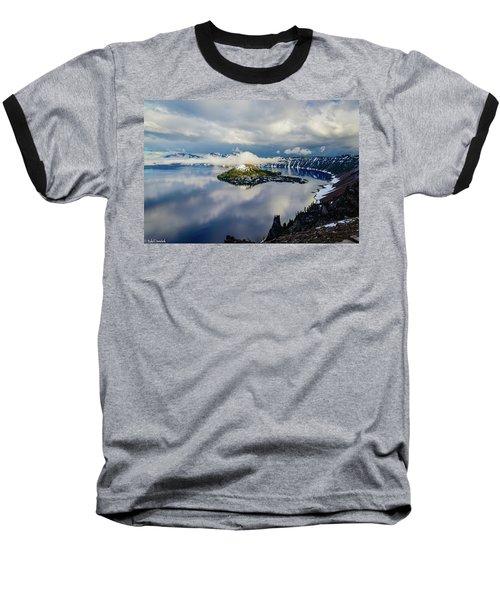 Crater Lake Storm Baseball T-Shirt