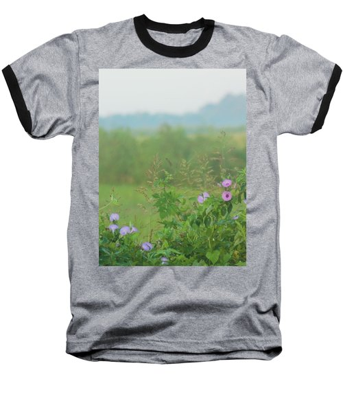 Baseball T-Shirt featuring the photograph Crawfish And Rice Fields Of Dreams by John Glass