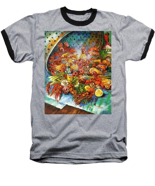 Crawfish Time Baseball T-Shirt