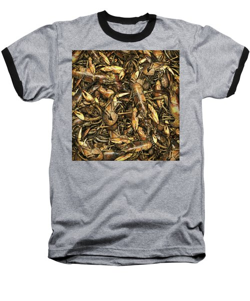 Crayfish Baseball T-Shirt