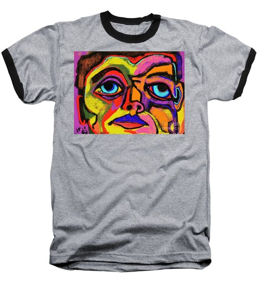 Crayon Bob Baseball T-Shirt