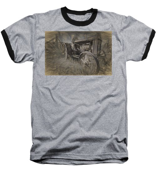 Crazy Farmer Baseball T-Shirt
