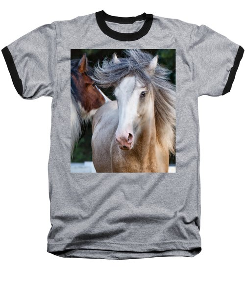Crazy Hair Baseball T-Shirt