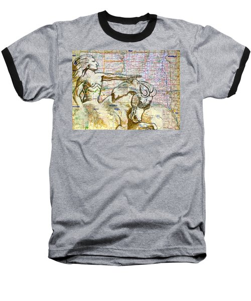 Crazy Horse Baseball T-Shirt
