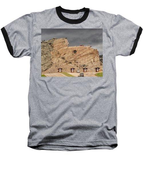 ...entrance Crazy Horse Memorial South Dakota.... Baseball T-Shirt