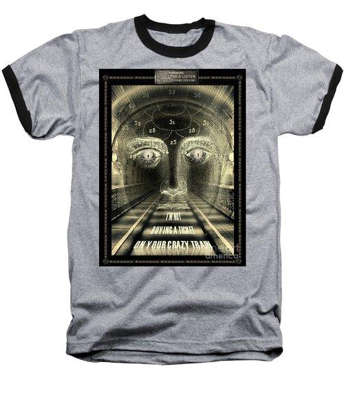 Crazy Train Baseball T-Shirt
