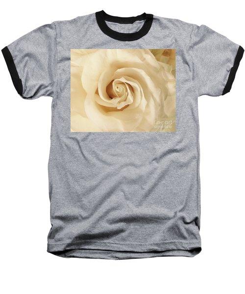 Creamy Rose Baseball T-Shirt
