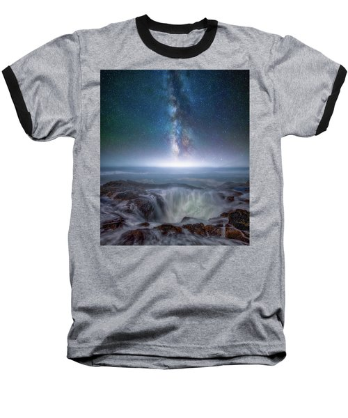 Baseball T-Shirt featuring the photograph Creation by Darren White