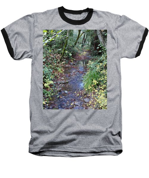 Creek On Mt Tamalpais 2 Baseball T-Shirt