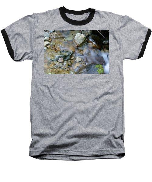 Creek On Mt Tamalpais Baseball T-Shirt