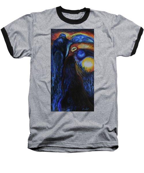 Creeping Plague Baseball T-Shirt