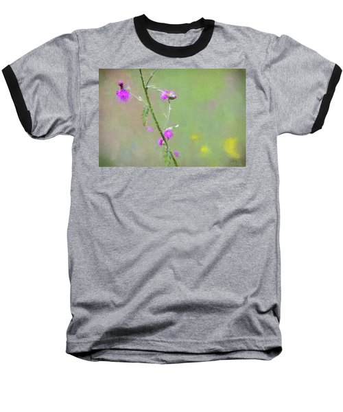 Creeping Thistle Baseball T-Shirt