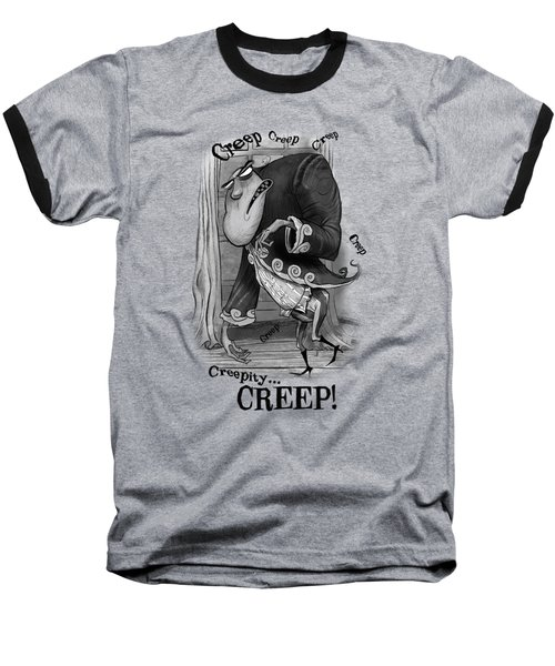 Creepy Baseball T-Shirt