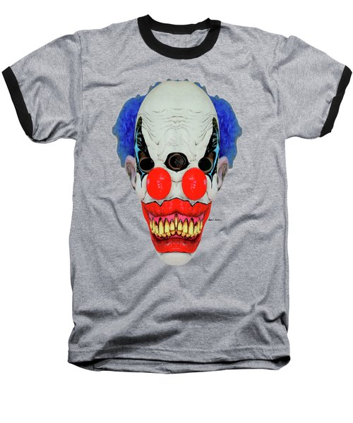 Creepy Clown Baseball T-Shirt
