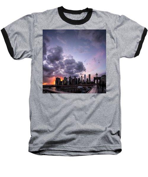 Crepsucular Nights Baseball T-Shirt