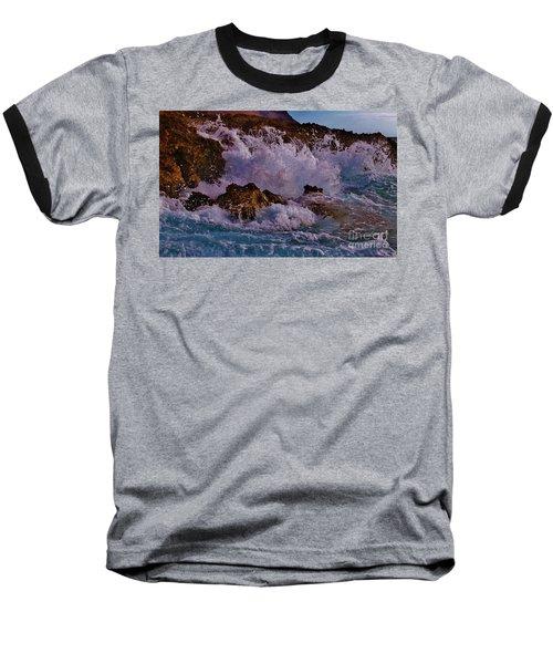Crescendo Baseball T-Shirt by Craig Wood
