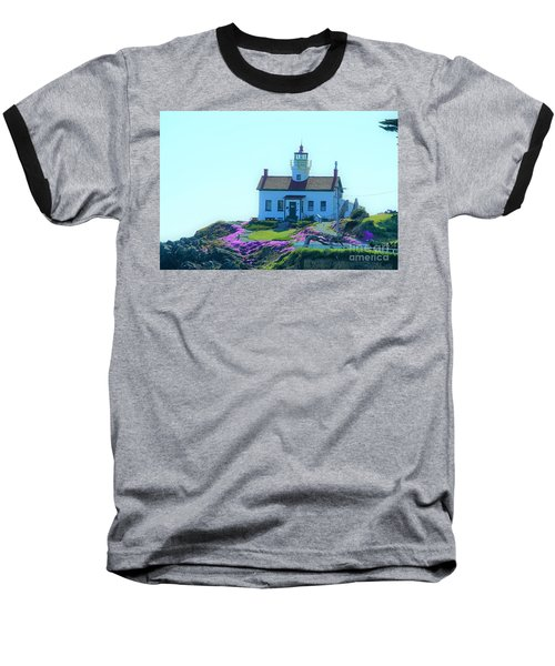 Crescent City Lighthouse Baseball T-Shirt