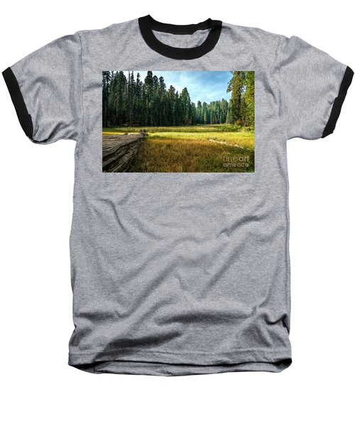 Crescent Meadows Sequoia Np Baseball T-Shirt