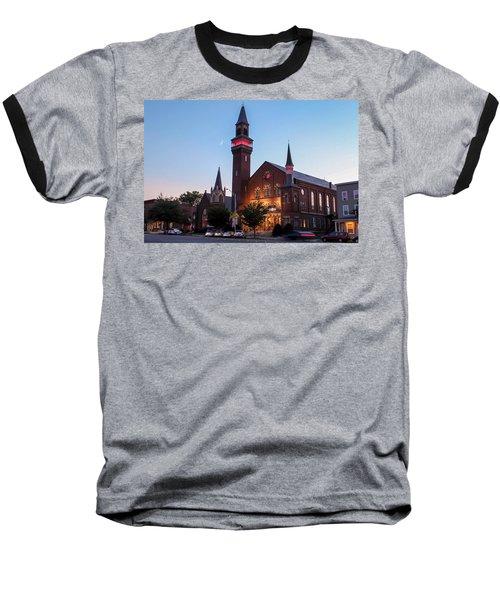Crescent Moon Old Town Hall Baseball T-Shirt