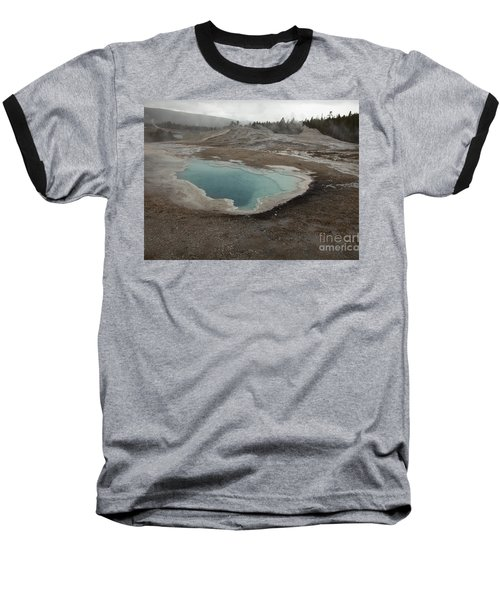 Crested Pool, Upper Geyser Basin, Yellowstone Baseball T-Shirt