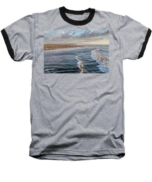 Baseball T-Shirt featuring the photograph Crests And Birds by Greg Nyquist