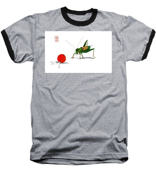 Cricket  Joy With Cherry Baseball T-Shirt