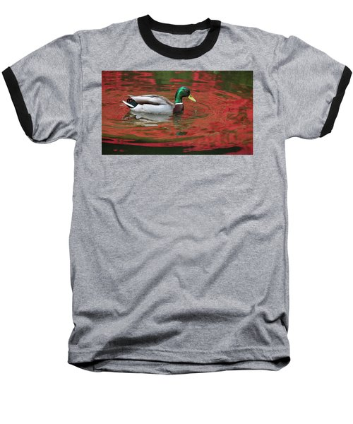Crimson Reflections Baseball T-Shirt