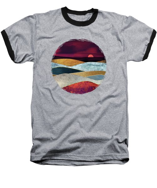 Crimson Sky Baseball T-Shirt