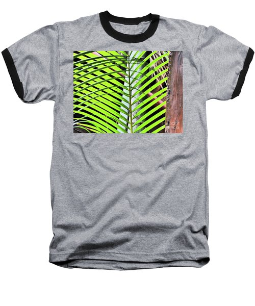 Crisscrossing Palms Baseball T-Shirt