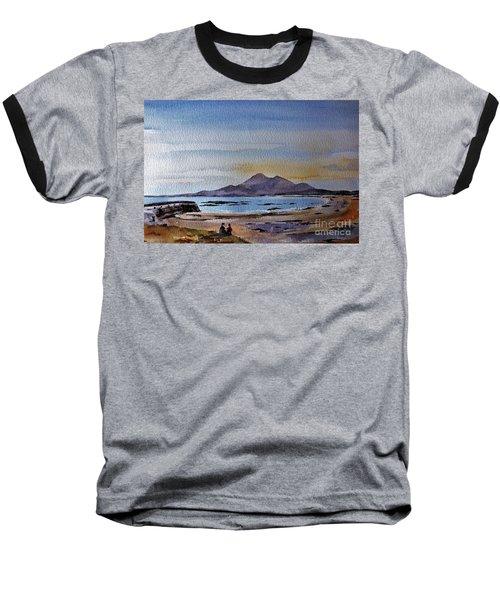 F801  Croagh Patrick From Old Head, Mayo Baseball T-Shirt