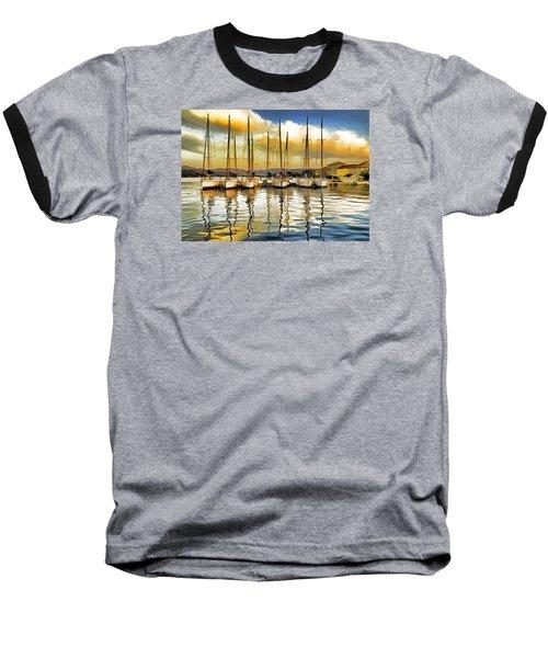 Croatia Marina Baseball T-Shirt