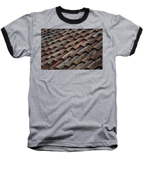 Croatian Roof Tiles Baseball T-Shirt
