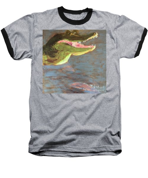 Crocodile Baseball T-Shirt