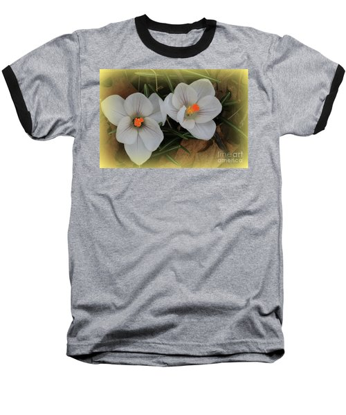 Crocuses Baseball T-Shirt